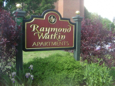 Raymond Watkin Apts.  Banner